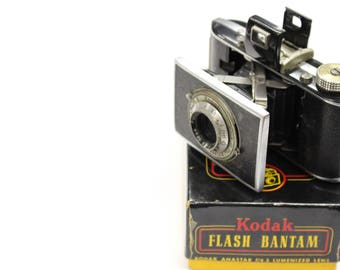 Vintage Kodak Flash Bantam Film Camera