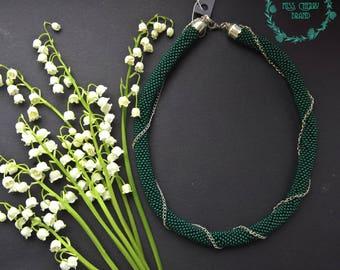 Original green necklace