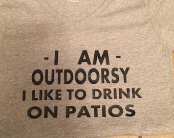 Outdoorsy tshirt