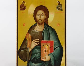 Christian Icon of Jesus Christ, catholic icons and orthodox icons