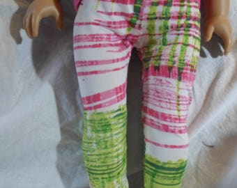 "American Doll 18"" Doll Clothes-Funky Stretch Leggings/Tights"