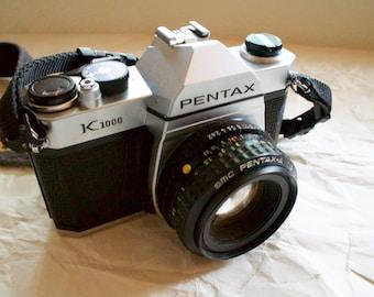 Pentax K1000 Vintage 35mm Film Camera