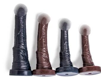 MATURE ITEM: Hankey's Toys Centaur Platinum Silicone Dildo size XXL