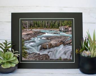 Natural Bridge Photography Print, Canadian Rockies Photography, 8x10 Print, Yoho National Park