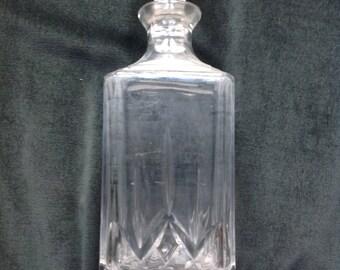 Decanter shot glass, rectangular shape