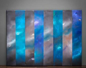 Space Panels - GICLEE Canvas Print