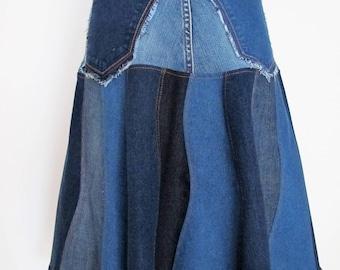 Jeans skirt DeLüx unique