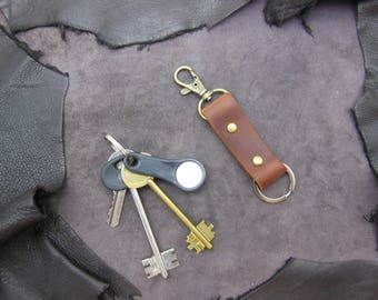 Leather Belt Clip Keychain. + GIFT (7)