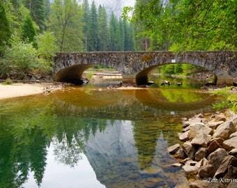 Bridge Over the Merced River, Yosemite Valley
