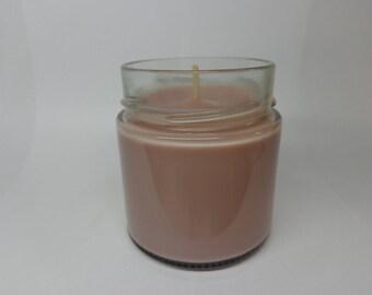 Vegetable soy wax scented milk jam.