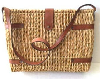 Vintage Native Rattan Bag
