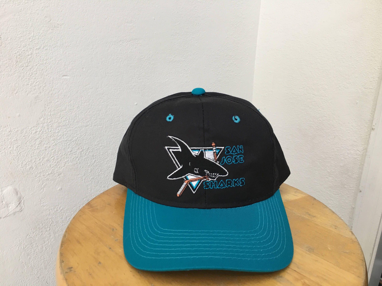 Vintage Youngan G-Cap San Jose Sharks snapback twill ... 03880402d67f
