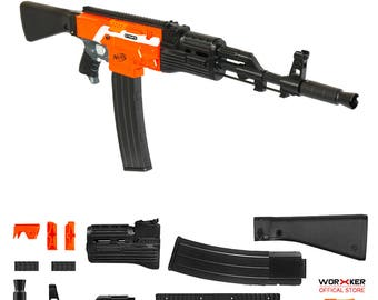 Worker MOD F10555 AK47 Imitation Kit 3D Printing Combo for STRYFE N502