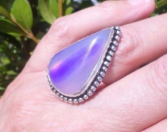 RING 925 sterling silver and Agate