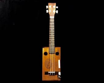 Cigar Box Tenor Ukulele