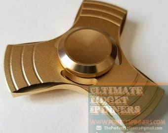 Gold Mini Fidget Spinner (Small and Lightweight)