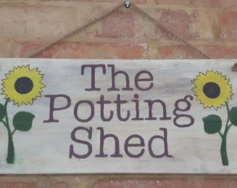 Medium Handmade Customisable Sign, Rustic Look