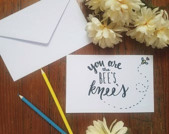 The Bee's Knees Card