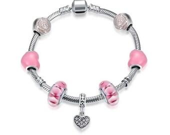 925 sterling silver fashion bracelets