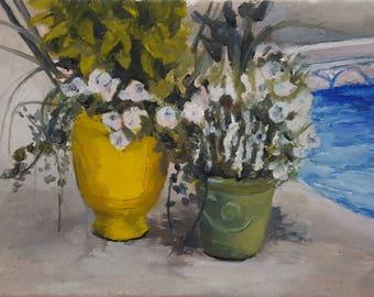 Still Life Summer Oil Painting