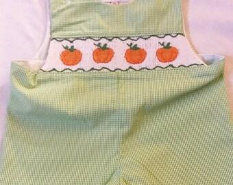 Kohler Linens Pumpkin Shortall