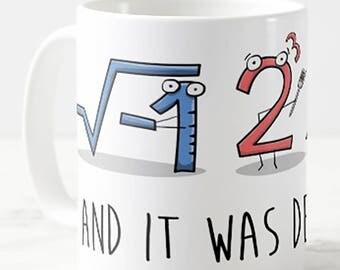 I 8 Sum Pi Math Teacher Mug Joke Gift