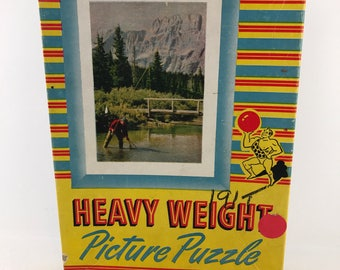 Heavy Weight Picture Puzzle