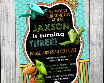 Dinosaur Invitation