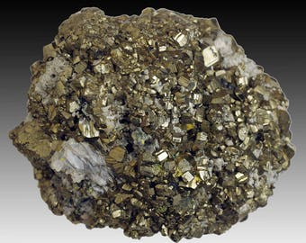 Pyrite; ZCA West Pierrepont Mine, West Pierrepont, St. Lawrence Co., New York, USA  --- fine and rare minerals