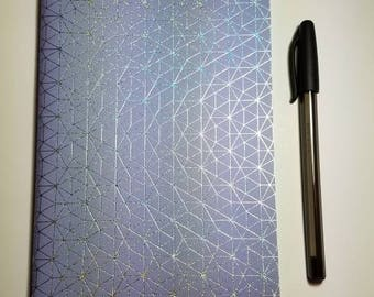 Holographic Geometric Traveler's Notebook Insert