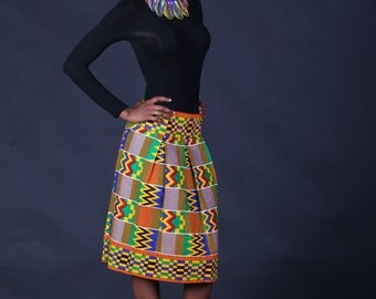 """Beautiful Ghanaian"" skirt"