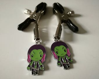Guardians of the Galaxy Gamora Nipple Clamps