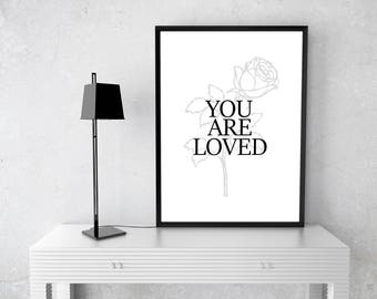 You are Loved - Digital Print
