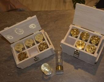 Рюмки в подарочной коробке (ограниченная серия).  Shot glasses in gift box (Limited edition)