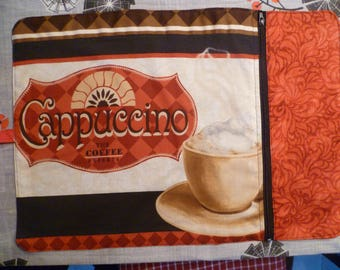 Doily compartment 'cappuccino', gift for host or hostess or for yourself