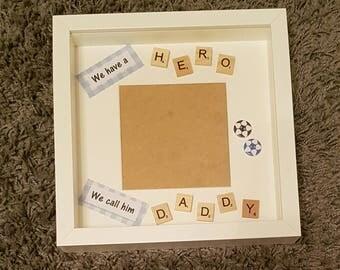 Daddy Hero Frame