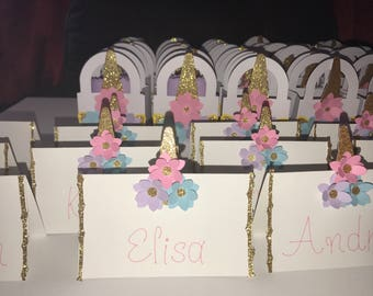 Personalized Unicorn Name Signs