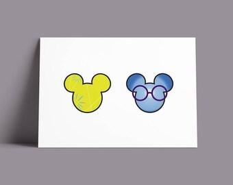 Pixar Pals: Inside Out | Postcard