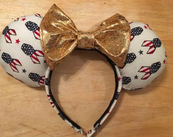 Thank You For Your Service Mouse Ears