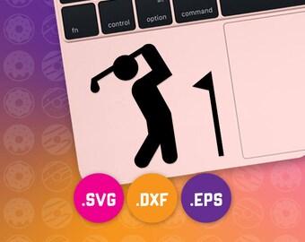 golfer svg, golfer dxf, golfer cut file, golfer eps, golfer vector, golfing svg, golfing cut file, golfing dxf, golf svg, golf cut file