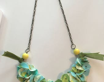Southern Magnolia Necklace