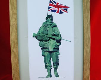 RNRMC Royal Marine Limited Edition Print