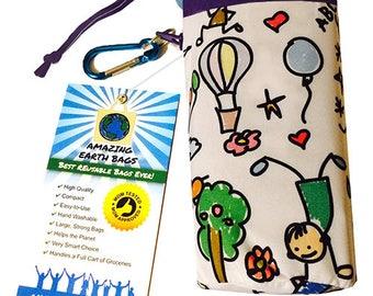 Amazing Reusable Bags !!!  Kids drawing