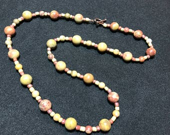 Soapstone necklace