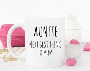 Auntie - next best thing mug
