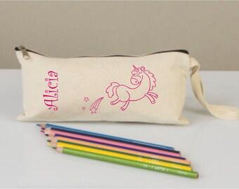 Pencil cases, pencil case for kids, pencil cases boxes, pencil cases personalized,  pencil cases fabric, cotton pencil case, pony bag