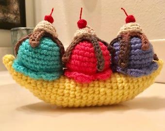 Banana Split crochet
