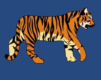 The Tiger Print