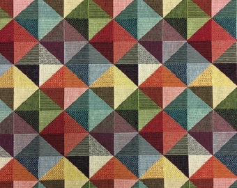 Large Triangle Upholstery Fabric