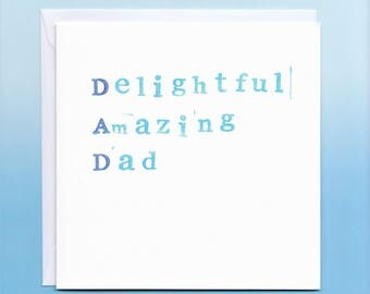 Dad Card for Birthday, Father's Day or just because!